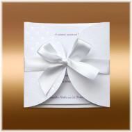 svatební oznámení s puntíky