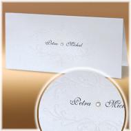 klasické svatební oznámení