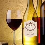etiketa na víno