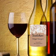 etiketa na víno krajka