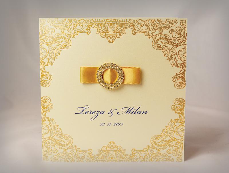 Luxusní svatební oznámení